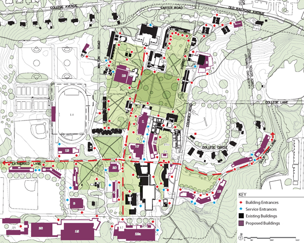 haverford college campus map Vsba Llc Architects Planners haverford college campus map