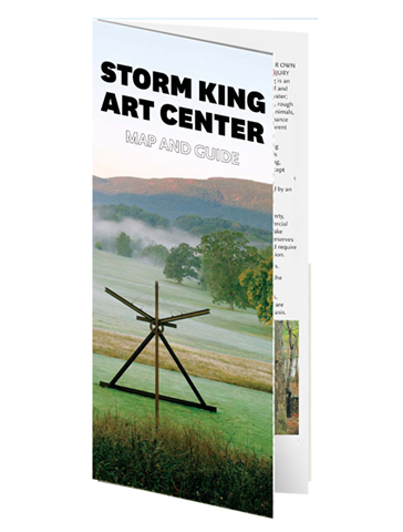 Storm King Art Center, Visitor Map 01