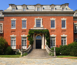 Dumbarton Oaks, Main House Renovation