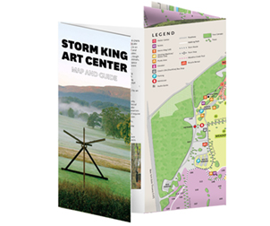 Storm King Art Center, Visitor Map
