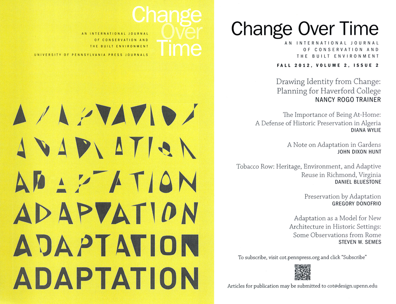 Change Over Time Flyer