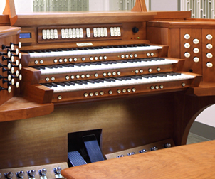 Curtis Institute of Music, Organ Studio