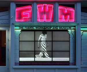 Fabric Workshop and Museum, Storefront Window Permanent Displays